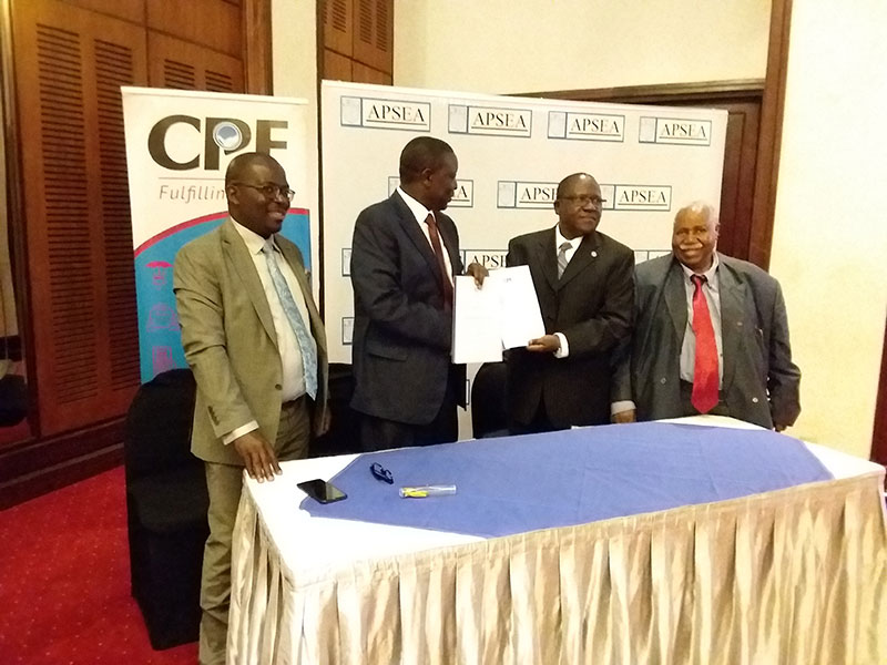 APSEA Breakfast meeting with CPF Trust Fund at Laico Hotel